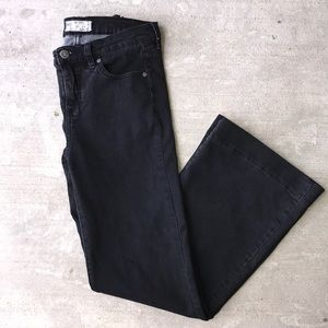 Free People Black Bell Bottoms